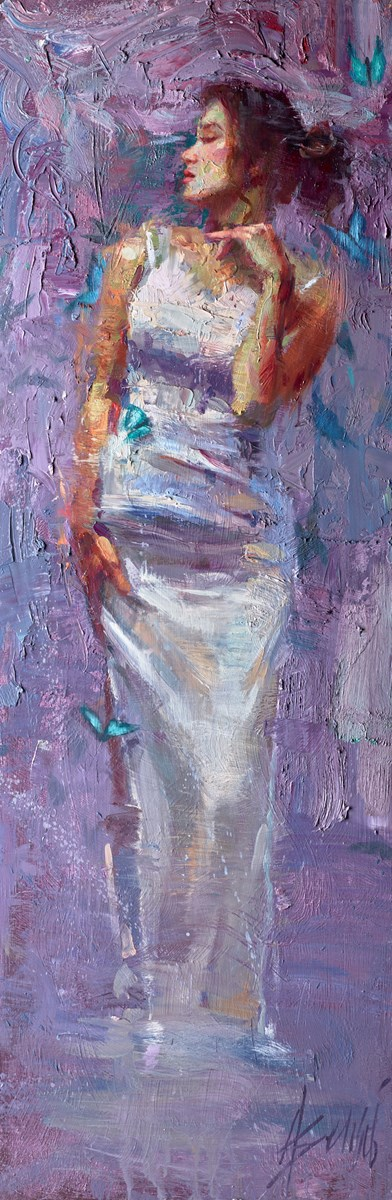 Whispers of Intrigue by henry asencio -  sized 16x48 inches. Available from Whitewall Galleries